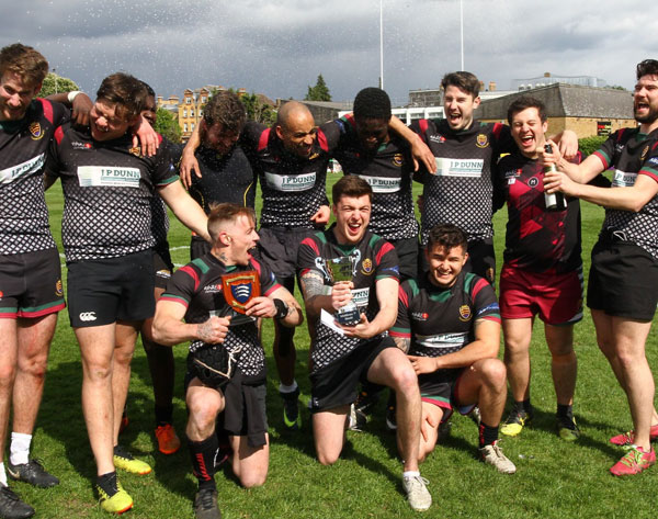 Thamesians beat Wild 7s to win Middlesex 7s Merit Plate