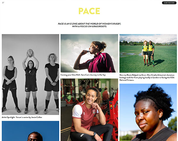 Lara Miller launches grassroots women's rugby E-Zine